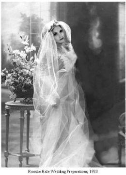 Розали хейл в свадебном платье
