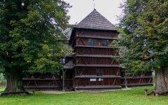 Wooden evangelist church (UNESCO heritage), Hronsek, Slovakia