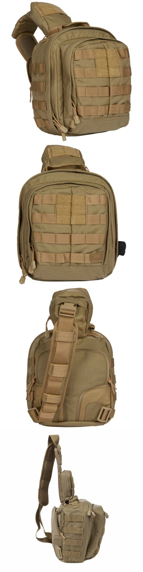 Tactical Bags and Packs 177899: 5.11 Tactical Rush Moab 6 Sling Pack Sandstone Mobile Operation Attachment Bag BUY IT NOW ONLY: $64.5
