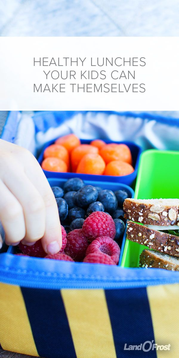 These nutritious lunch ideas are so simple your kids can practically pack them on their own! It's a great way to teach kids about portion control, healthy eating habits and nutrition, too!