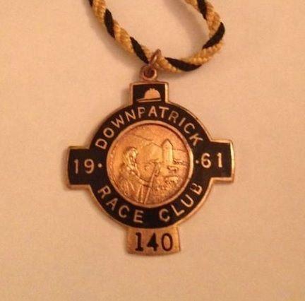 Annual badge - Downpatrick 1961