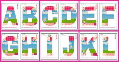 Magnifico Abecedario de Peppa Pig + números del 1 -20. Listos para imprimir