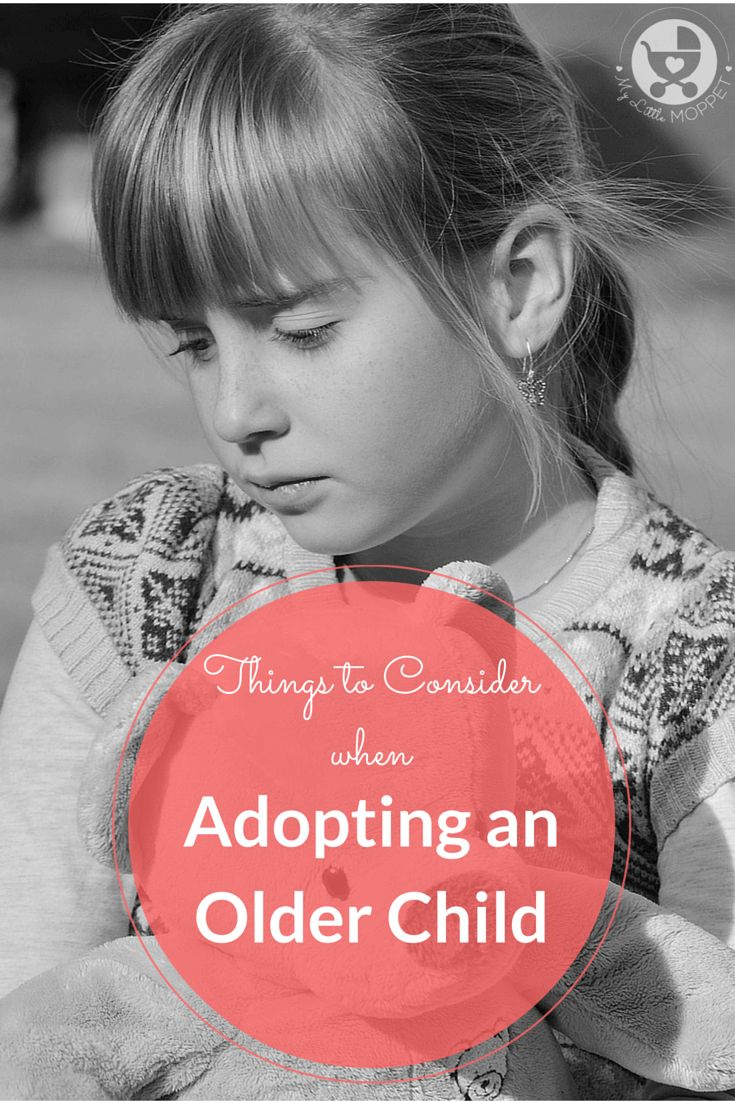 Adopting any child requires a good deal of thought and preparation, but adopting an older child requires many more factors to be considered.