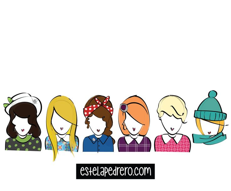 girls_ commissioned works and more at estelapedrero.com