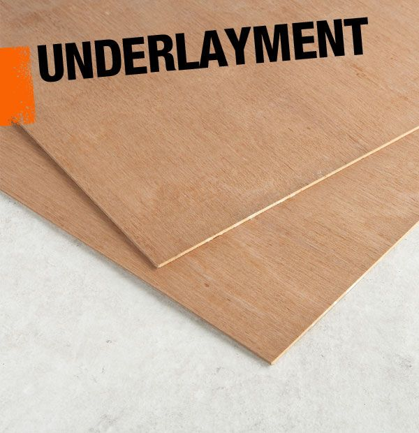 Underlayment is ideal for installing underneath laminate for Floor underlayment