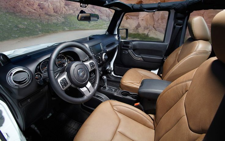 2013 Jeep Wrangler interior...