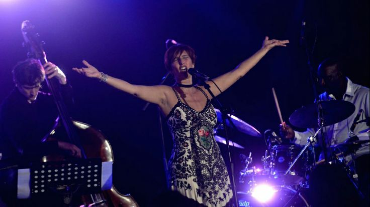 Chistina Morrison at Java Jazz 2014