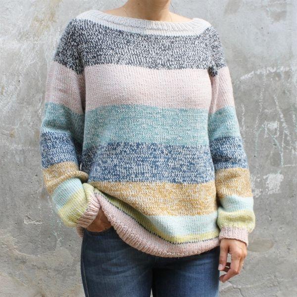 Tusindfryds Mix Sweater Med Raglanærmer Str. XS - XXL