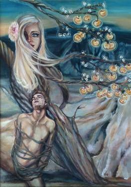 "Saatchi Art Artist Violetta Tar; Painting, ""Csongor and Tunde"" #art"