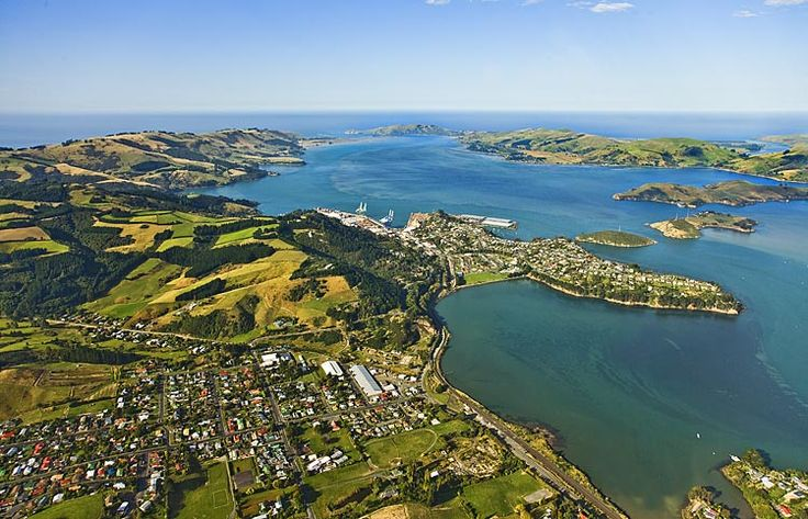 Port Chalmers, in Otago harbour, see more, learn more, at New Zealand Journeys app for iPad www.gopix.co.nz