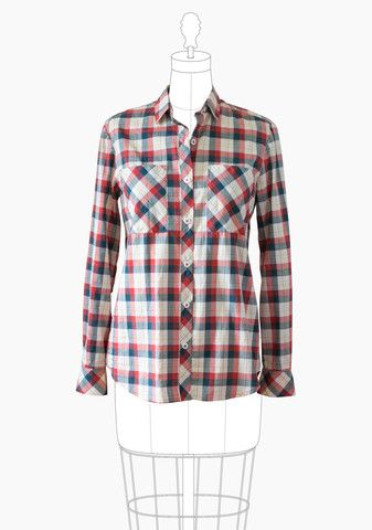 Archer Button Up Shirt – Grainline Studio