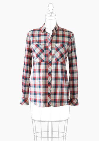 Archer Button Up Shirt – Grainline Studio