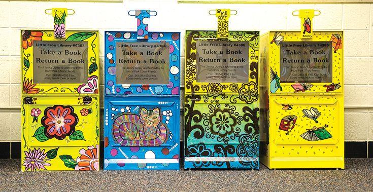 Little Free Library launching soon in Hazel Park