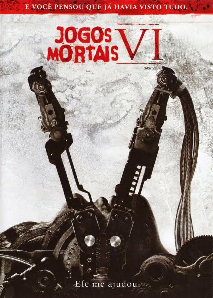 Resultado De Imagem Para Capa Do Filme Jogos Mortais 6 Peliculas De Terror El Juego Del Miedo Juego Macabro