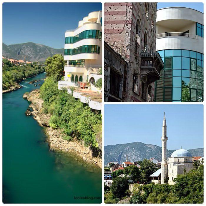 Bośnia i Hercegowina - Mostar Bosnia and Herzegovina - Mostar #mostar #bosnaandherzegovina #center #citycenter #adventure #oldtown #holidays #travel #traveller #travelaroundtheworld #journey #vacations #europe #vacationineurope #summer #summertime #eu #rzeka #widok #view #meczet #pociski