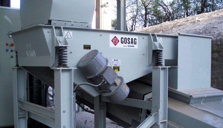 TS GOSAG Disponibles en varias anchuras y longitudes de artesa, según las necesidades de caudal. Para idénticas dimensiones interiores, disponemos de 4 tipos de robustez de construcción mediante el incremento de espesores de artesa y número de refuerzos, divididos en varios submodelos.