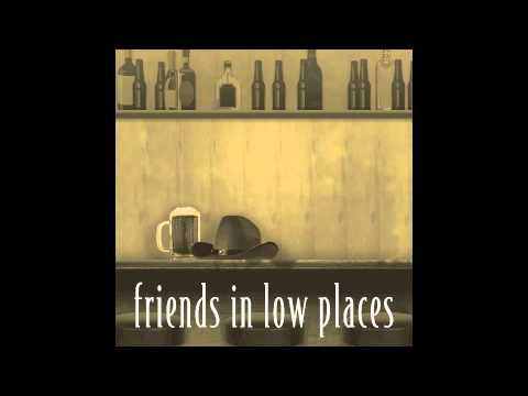 """Friends in Low Places"" by Garth Brooks  Probably my favorite bar song"