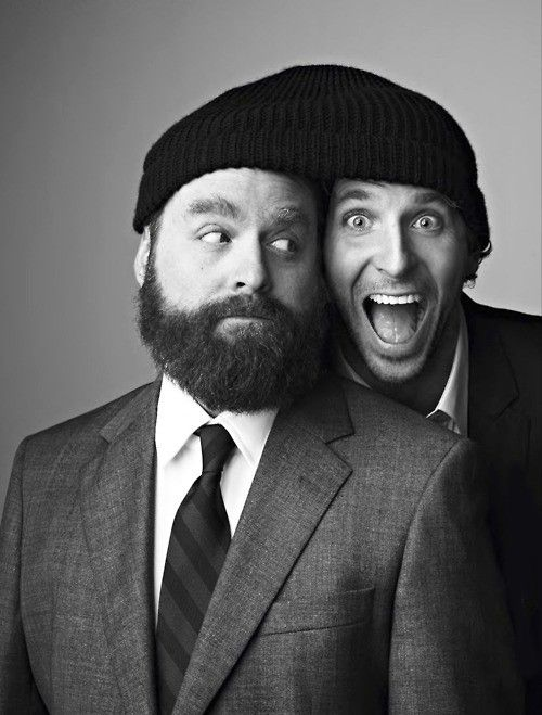 Bradley Cooper and Zach Galifianakis