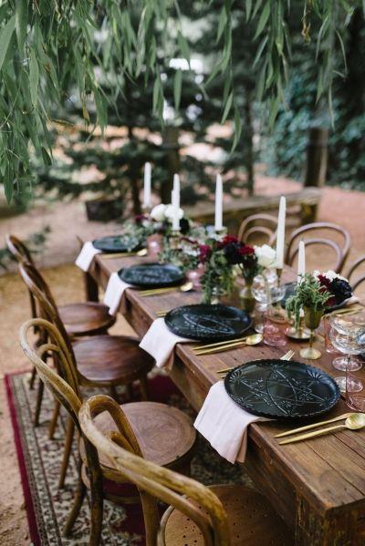 Romantic Outdoor Winery Ideas With Marsala - Polka Dot Bride - Perth Wedding Photography - Antique Wedding Decor