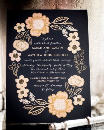 Say I Do To The Perfect Wedding Invitation Design From Minted