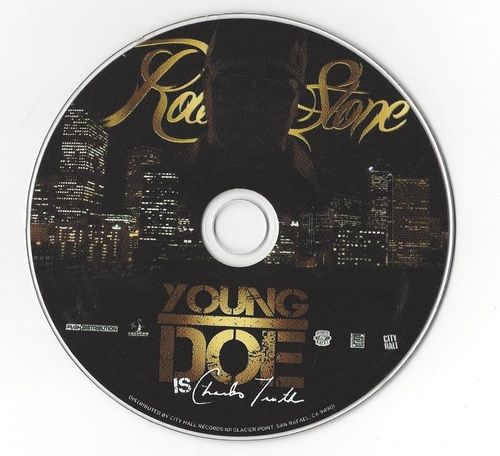Young Doe Rollin Stone 2011 CD Professionally Cleaned