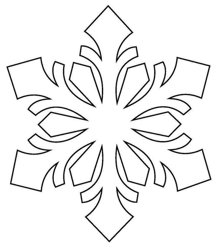 vánoční vystřihovánky do oken vločky - Hledat Googlem