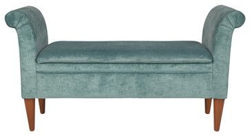 Prestbury Upholstered Upholstered Bench contemporary bedroom benches