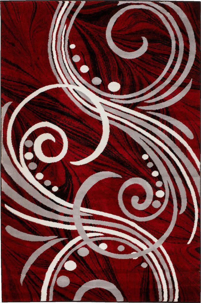 summit elite red area rug