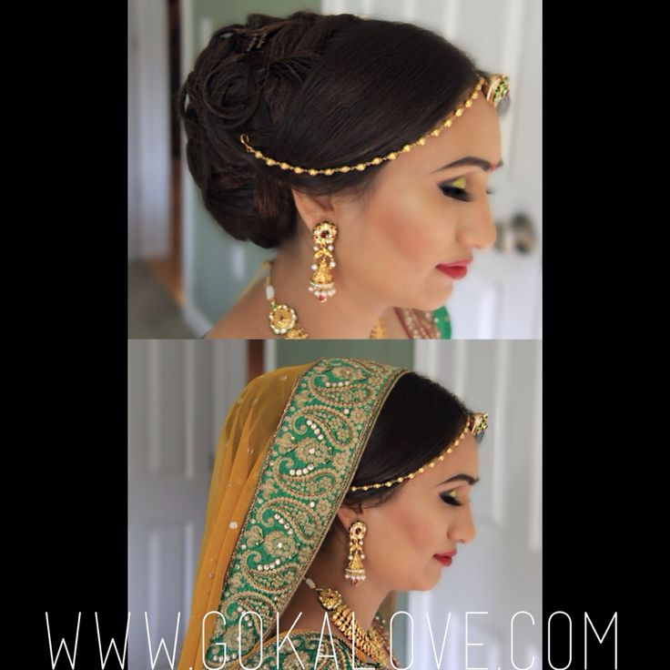 Before and After the Dupatta setting! :) Makeup, Hair, Indian Wedding, Hairstyle, Hairstylist, Makeup Artist, Up do, Curls, Big Hair, Boston, Massachusetts, New York, Connecticut