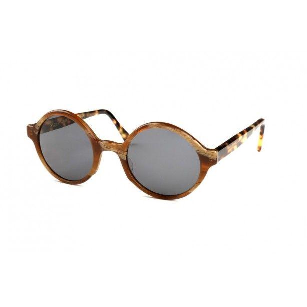 Gafas de Sol Redonda Madera G-238