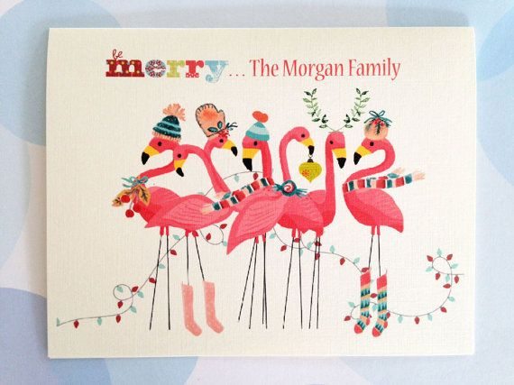Family Personalized Christmas Cards