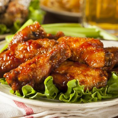 Lip Smacking Honey Barbeque Chicken Wings