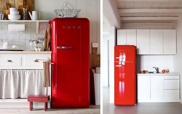 Los frigoríficos Smeg en la decoración de cocinas   DECOFILIA.com