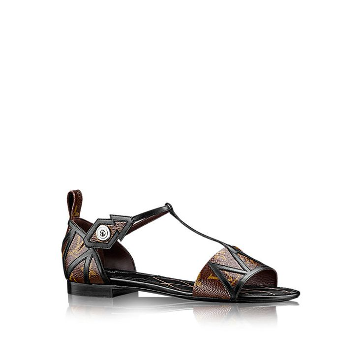 NEW REVIVAL FLAT SANDAL - - Shoes | LOUIS VUITTON