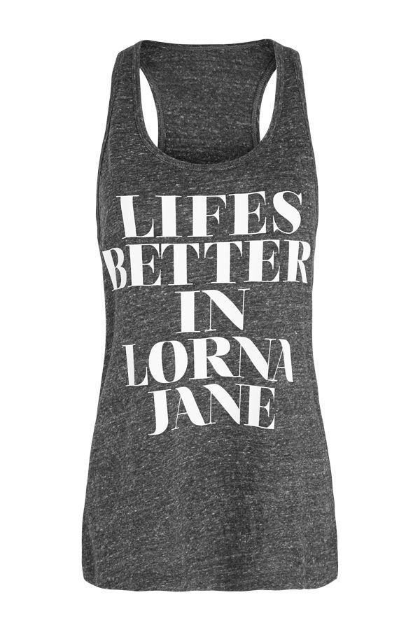 Better Life Tank | Tanks | New In | Categories | Lorna Jane Site