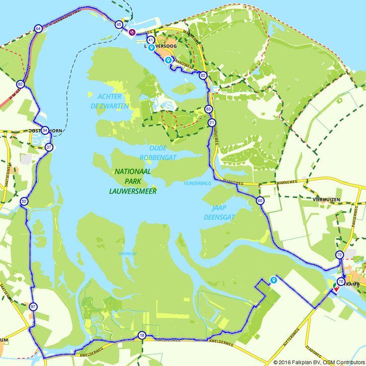 Wandelroute Te voet door Nationaal Park Lauwersmeer voor een gezellig dagje uit. (https://www.route.nl/wandelroute/517943/te-voet-door-nationaal-park-lauwersmeer)