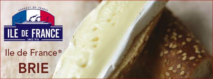 ile de france brie cheese all natural creamy french brie francophile pinterest ile de. Black Bedroom Furniture Sets. Home Design Ideas