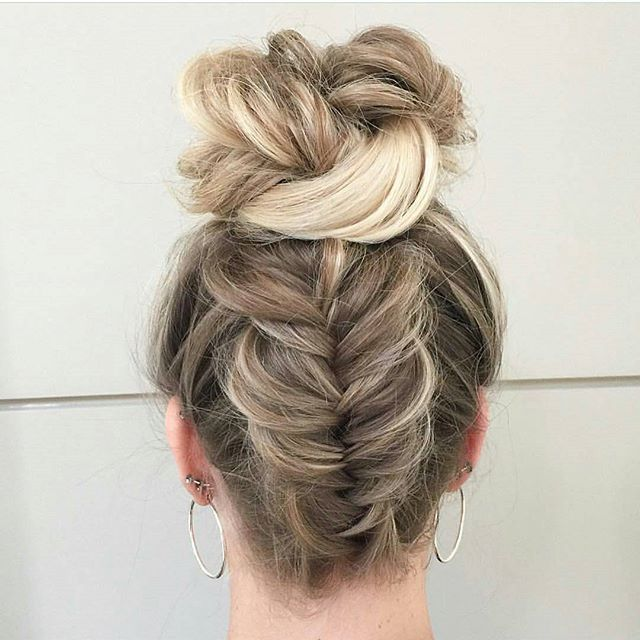 25+ Best Ideas About Fishtail Hairstyles On Pinterest