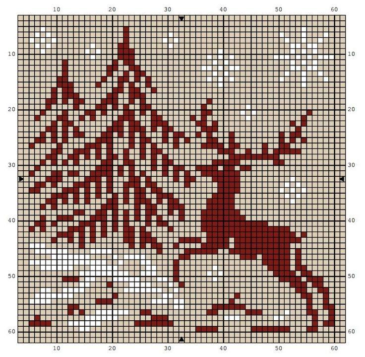 Ручная работа by natulja-best: Благородный олень  Noble deer