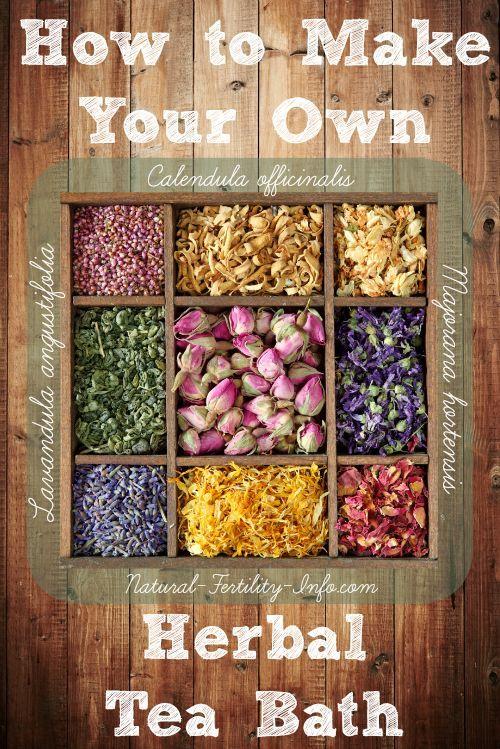 Herbal Tea Bath - DIY / Plant Medicine <3