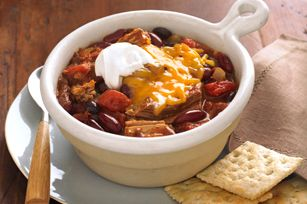 Pulled Pork Chili    This was delicious & comforting!
