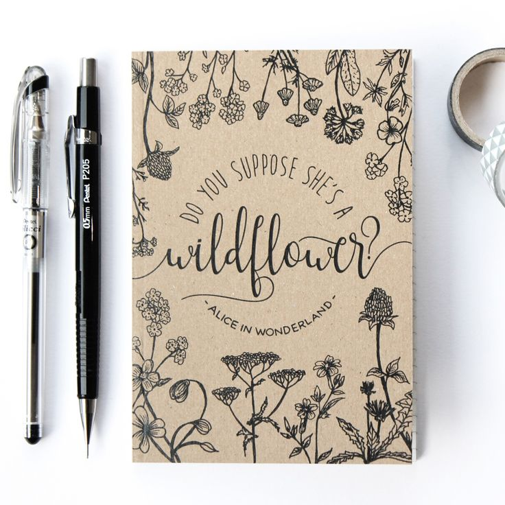 Notebook Design Inspiration
