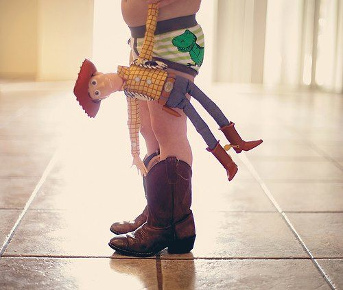 i want a pic of my son like this:) we love toy story!