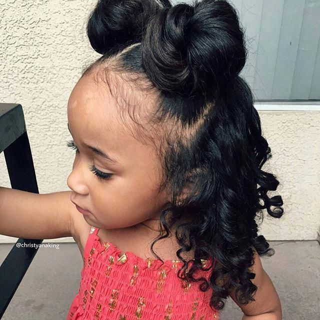 Natural Straightening Hair Mask How To Make Your Hair Straight Naturally Celebrity Hairst Little Girl Hairstyles Black Toddler Girl Hairstyles Toddler Hair