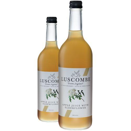 Jus de pomme et fleurs de sureau bio Luscombe - Acheter des jus de fruits bio en ligne - épicerie anglaise Sophie's Store