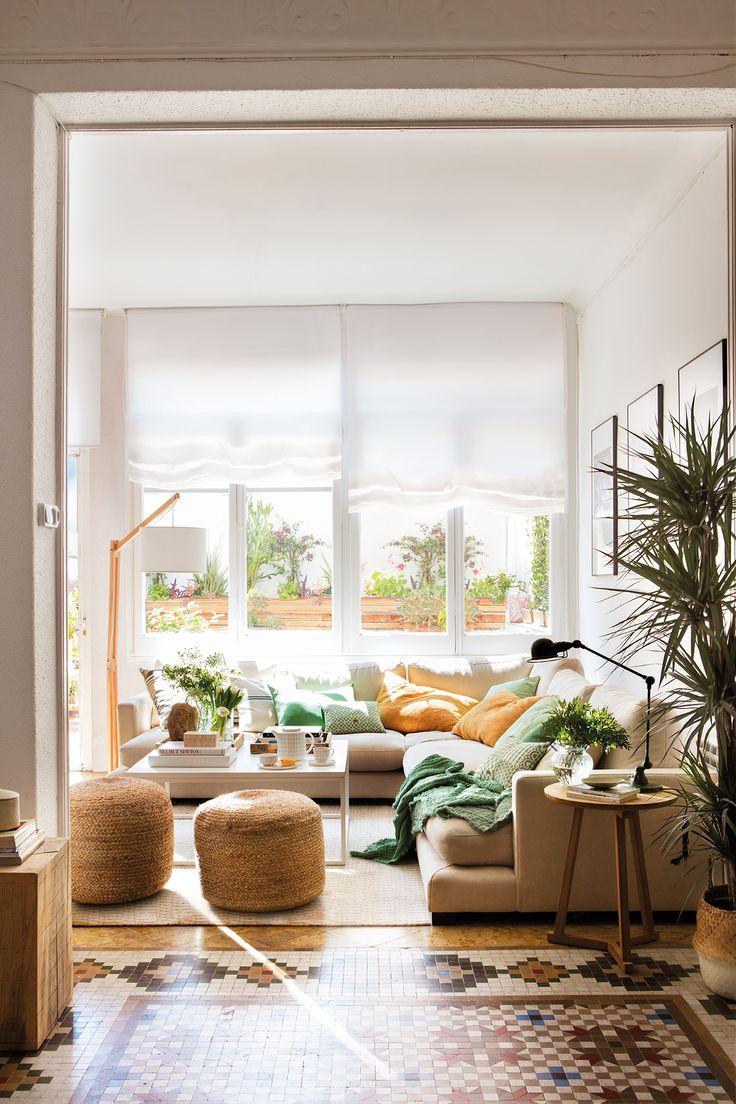 Moderno y muy vers til in 2019 salones peque os for Salones modernos pequenos
