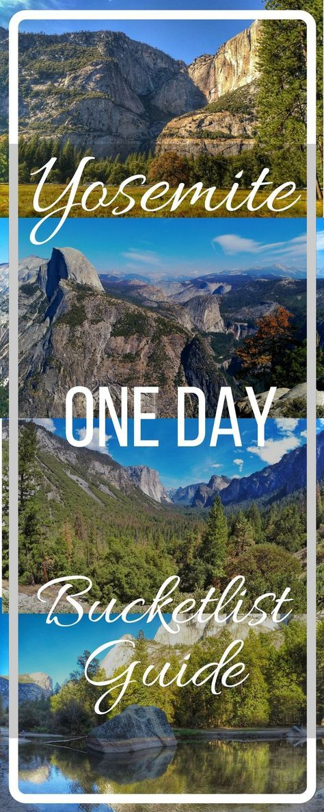 Yosemite National Park, California USA one day guide and tips for visiting. All you need to know and details on what to see. Don't miss Glacier Point, Tunnel View, Mirror Lake, Mariposa Grove, Yosemite Falls. How to get there, where to stay and full itinerary of things to see and do. Visit the post here: https://togethertowherever.com/things-see-yosemite-one-day