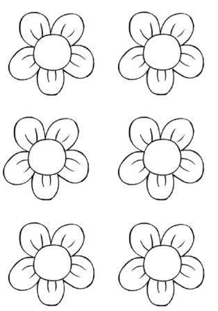 Coloriage Fleur Ms.L Activite De Decoupage En Maternelle Ps Ms Gs A Imprimer Art D