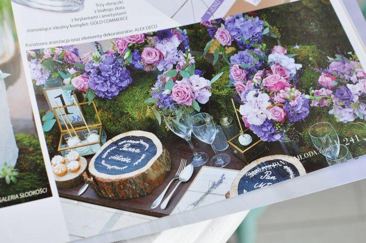kwiaty motyw ślubu i wesela