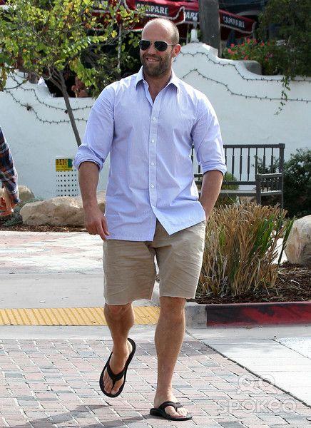 Jason Statham's Feet